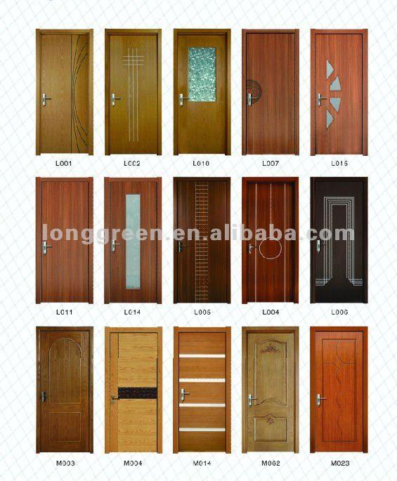 Luxury Wood Bedroom Door Design Z004