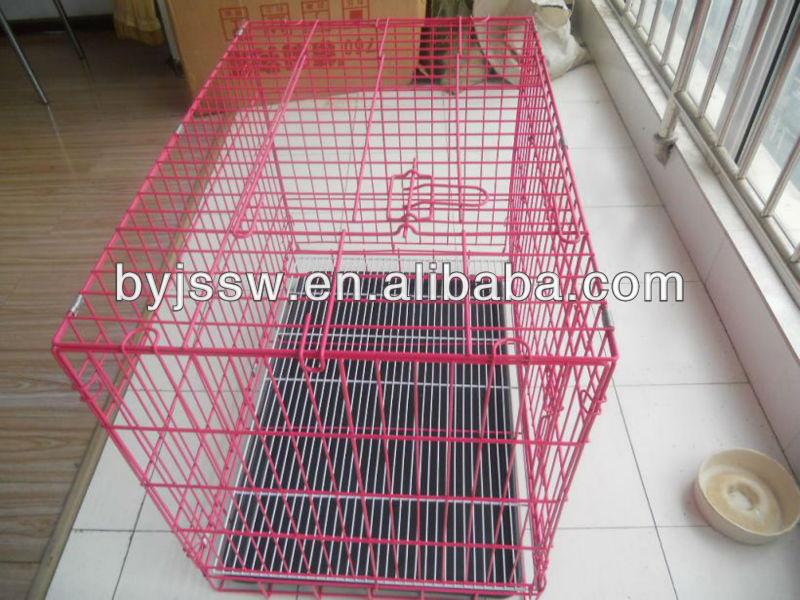 metal dog kennel