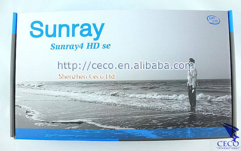 Hot selling!!!Sunray 800 se sr4 support wifi 800 hd se D6 3 tuner in1 Sunray 800 hd se satellite recevier free shipping