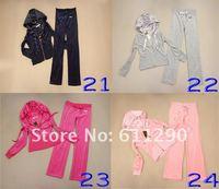 Женские толстовки и Кофты Retail! New Women's suits leisure suit sportswear Tracksuits ladies' Velvet Suit Many colors! Size:S/M/L/XL