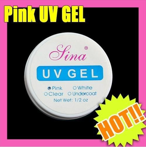 30pcs of 1lot UV builder gel for creating fantastic crystal french nail effect,clear,white,pink gel,1/2 oz/pcs
