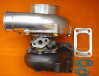 Запчасти для двигателя New GT35 GT3582 T3 flange Comp: a/r 0.70 anti-surge Turbine: a/r .63 oil&water 5 bolt turbo Turbocharger