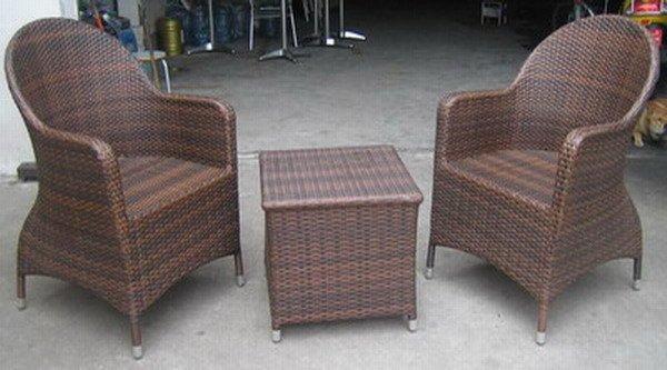 mobiliario de jardim em rattan sintetico:de móveis de bar imitação móveis YPS035-Conjuntos de Jardim