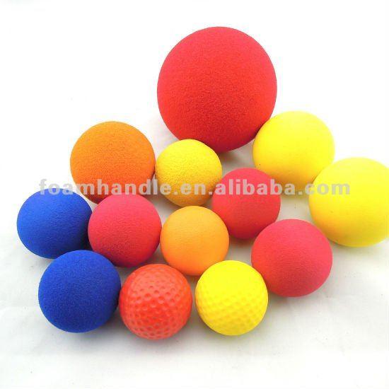Polyurethane Foam Stress Balls For Children Kids Soft Play