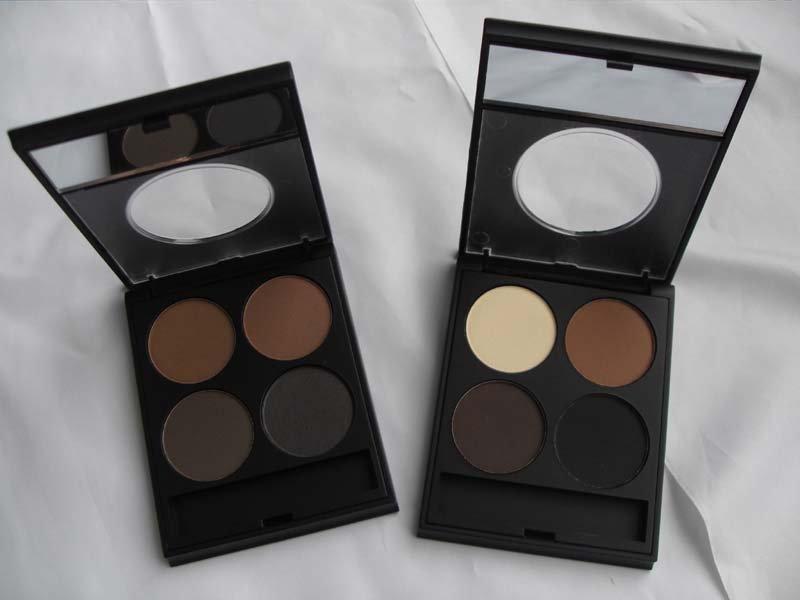 4 color Eyebrow powder compact