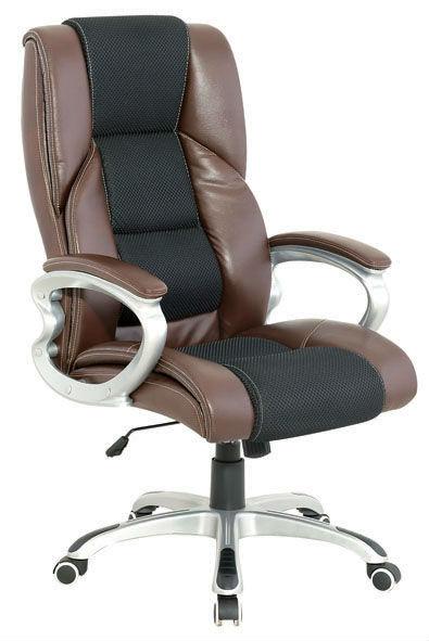 Y-2785 Silla giratoria de alta calidad para oficina con respaldo alto con soporte lumbar ajustable por tensión