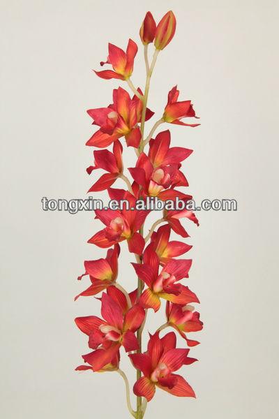 27423 phalaenopsis longue tige orchid e maison en plein air pliable fleur fle - Fleur blanche longue tige ...