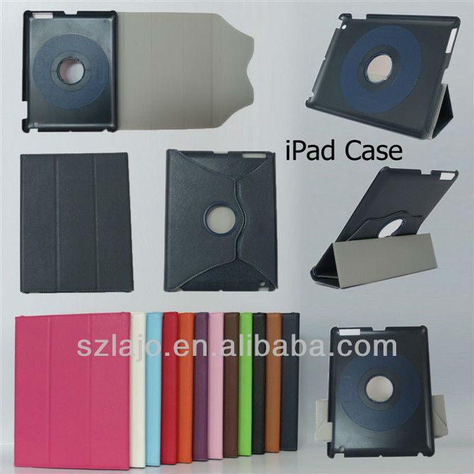 with 360 rotating leather for ipad mini case, for mini ipad case
