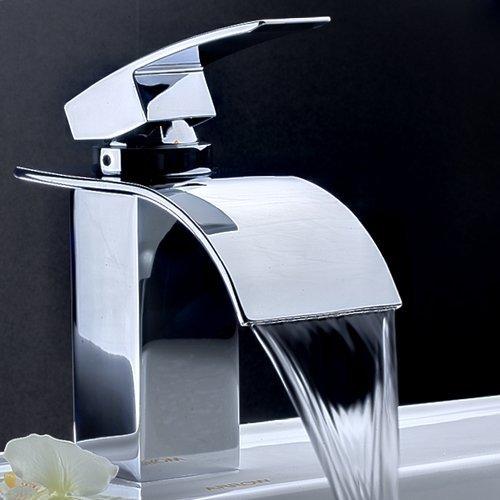Rubinetto lavabo bidet vasca doccia a cascata muro - Rubinetteria a cascata bagno ...