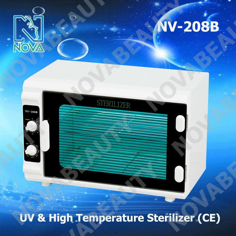 NV-208B 2 in 1 UV & high temperature sterilizer cabinet for salon NOVA