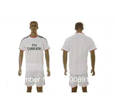 2013-2014 Real Madrid club white socccer jerseys home.jpg