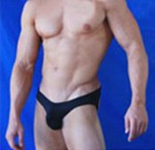 "Мужские стринги Men's Sexy Jock Strap Thong Black 32""-35"