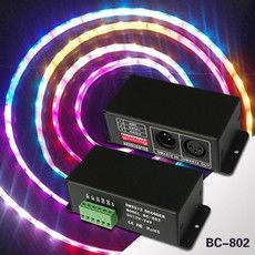 LED RGB Strip TLS3001 DMX512 decoder - TLS3002 DMX controller RGB pixel