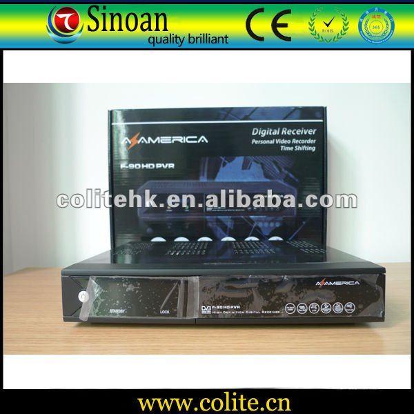 Azamerica F90,Az America F90 HD Pvr,Digital HD DVB-S Satellite Decoder/USB&CA SLOT