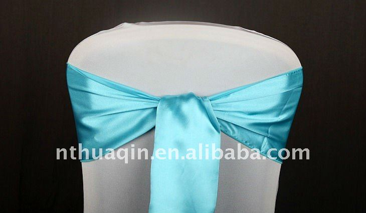 Satin sash for chair cover chair sash fashion sash