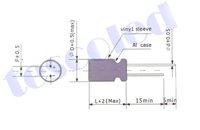 электролитический конденсатор 4700мкФ/25v 50pcs/lot