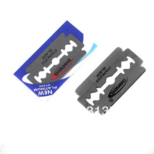 זרוק משלוח שיק חדש ישר מספרה קצה פלדה, סכיני גילוח סכין גילוח קיפול With10pc להבים ZY038 משלוח חינם
