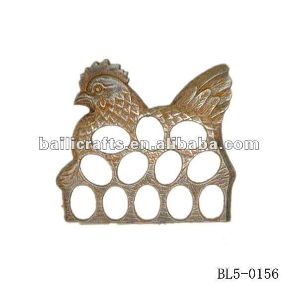 cast iron eggs holder