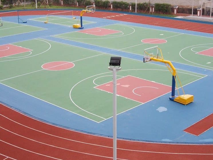 Sports Acrylic Basketball Flooring