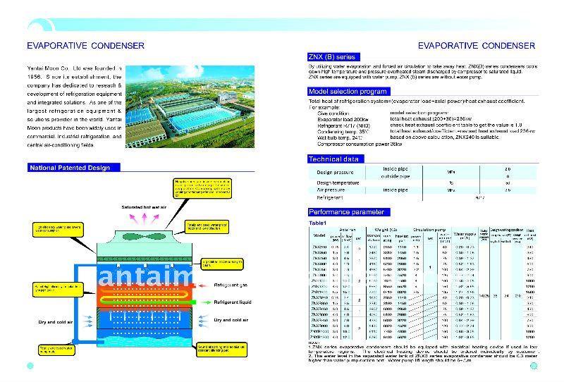 Evaporation Condensation Evaporative Condenser
