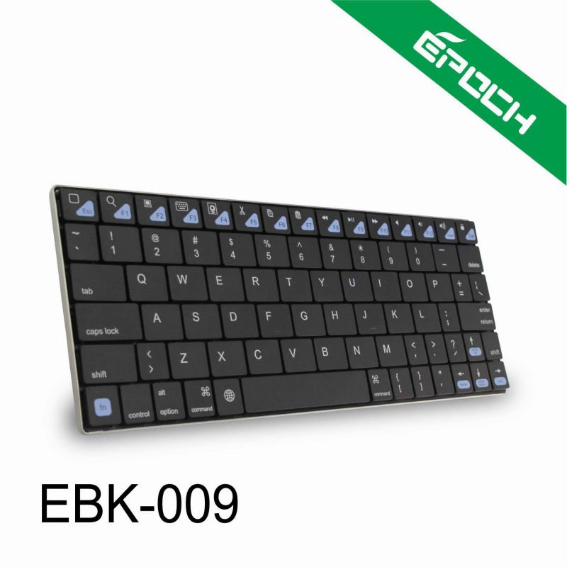 2014 Ultra-thin black Mini Bluetooth Wireless Keyboard for android tablet pc/ipad mini