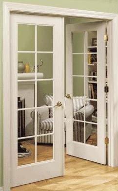Plastique pvc porte int rieure pvc porte fen tre portes - Double porte a galandage interieur ...