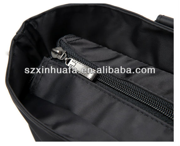 (XHF-LADY-294)Classical folding dual-use lady bag with zipper closed