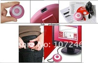 Portable Pocket Mini Electronic Digital Step Counter Pedometer Calories Monitor USB Update and Charger Pink, Free Shipping