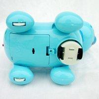 Электрический Робот собаки, электронные qq pet игрушка собака, музыка обуви легкой ходьбы ПЭТ