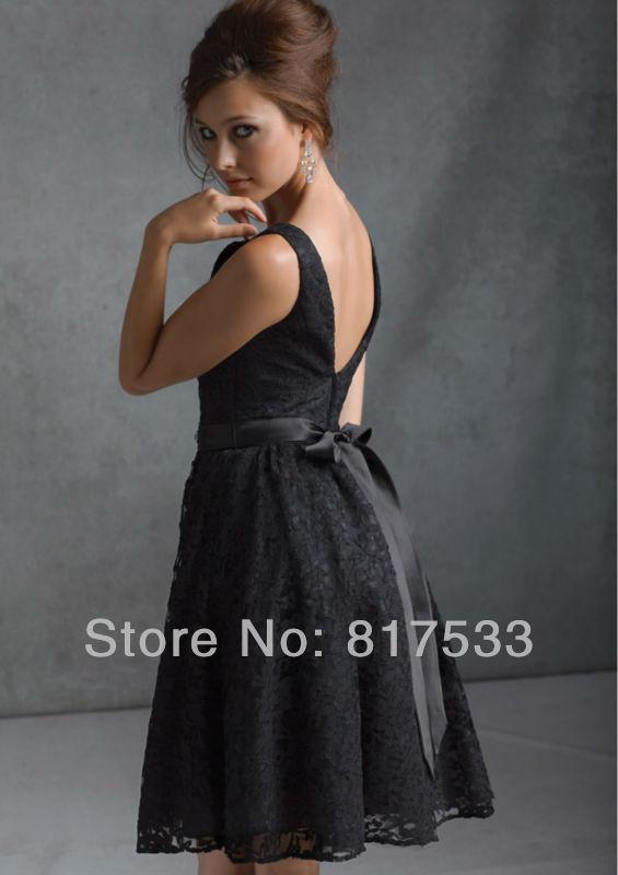 Robe noir courte 2013