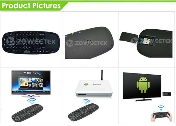 Slim Multimedia Keyboard 2.4GHz Wireless Keyboard