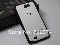 Чехол для для мобильных телефонов For Samsung Galaxy Note ii 2 N7100 case 2in1 hard PC material, 100pcs a lot, DHL