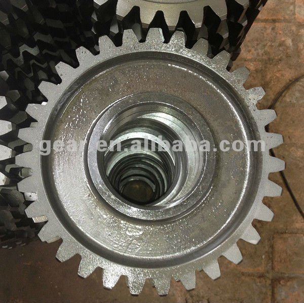 1-6m high precise agricultural machines gear wheel