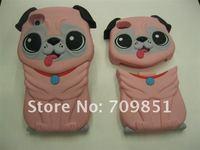 Чехол для для мобильных телефонов 3D sharpei dog case for iphone 4 /4S with retail package, MOQ:1pcs