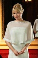 Свадебная накидка 100% Gurantee sexy chiffon stylish wedding dress women jacket