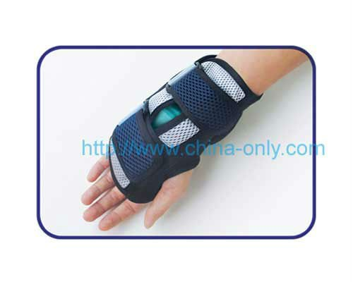 CH-0501C CH-0502C Wrist supporter with hot cold pack, fashion wrist support, gel wrist support