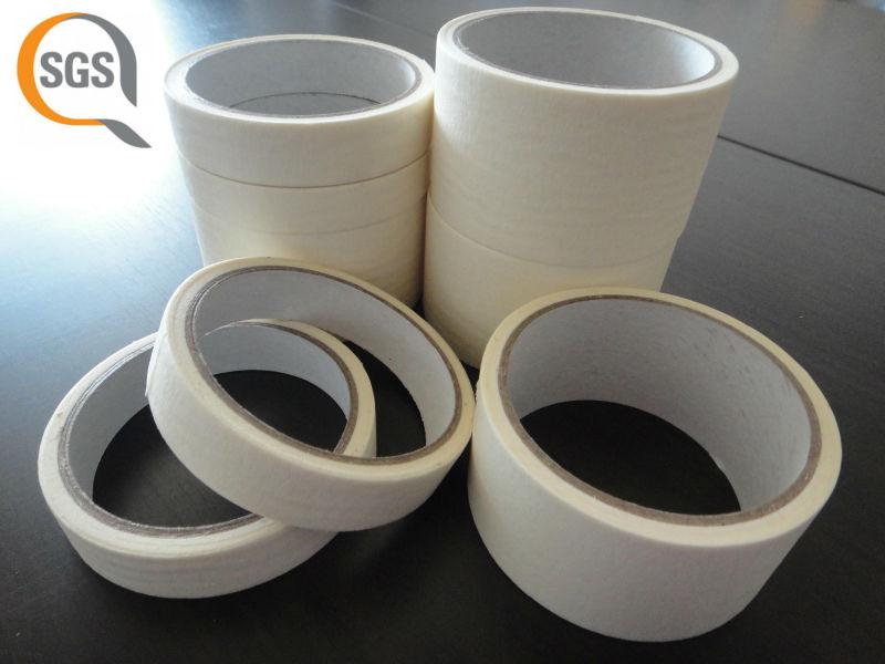 Stripe of glue decorative masking tape