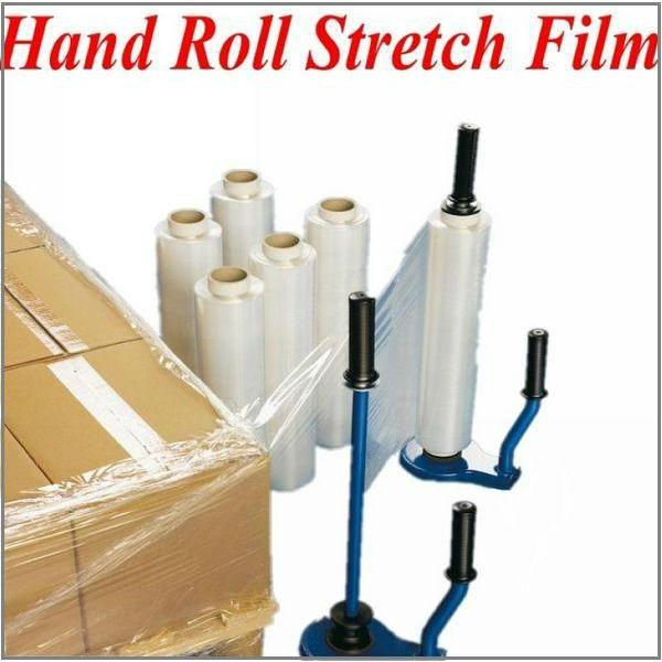 Manual roll lldpe stretch film
