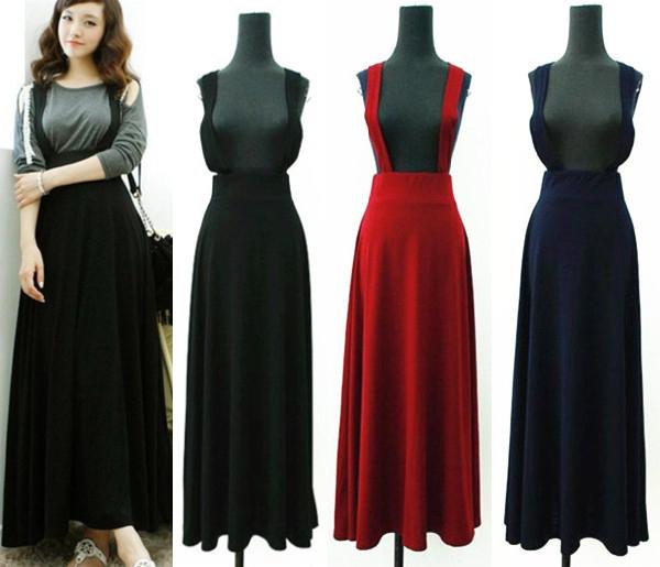 Wholesale-Autumn Spring Summer New Korean Fashion Long Skirts ...