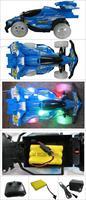 New Mini RC Radio Remote Control Micro Racing Car Vehicle Toy Blue 7277