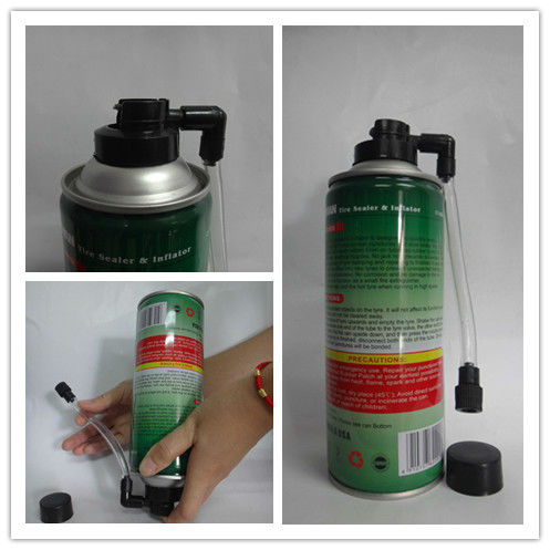 ISO9001 Aerosel Tyre Puncture Sealant 450ml