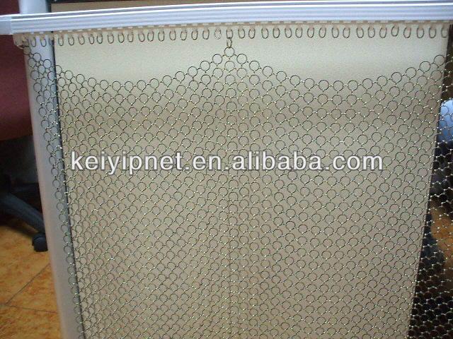 Decorative metal curtain ball chain curtains
