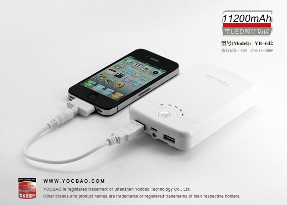 Yoobao Long March Power Bank YB-642 11200mah