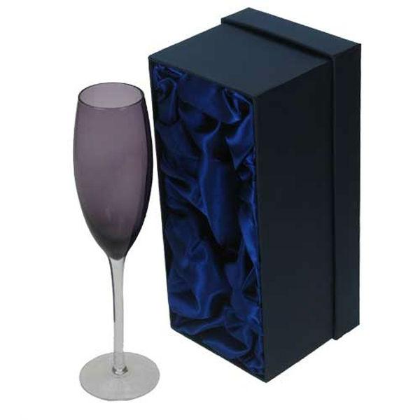 Fashion design champagne glass gift box