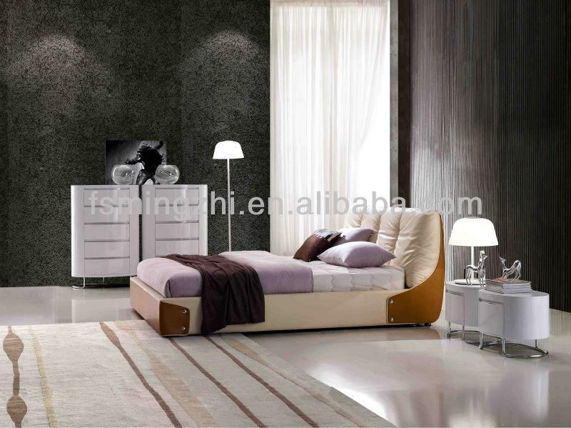 Korean bedroom furniture design bright color bedding bed - Bright house bedroom furniture ...