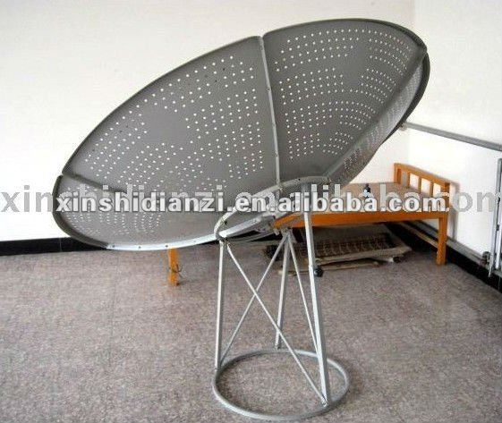 1.8m C Band satellite mesh dish antenna