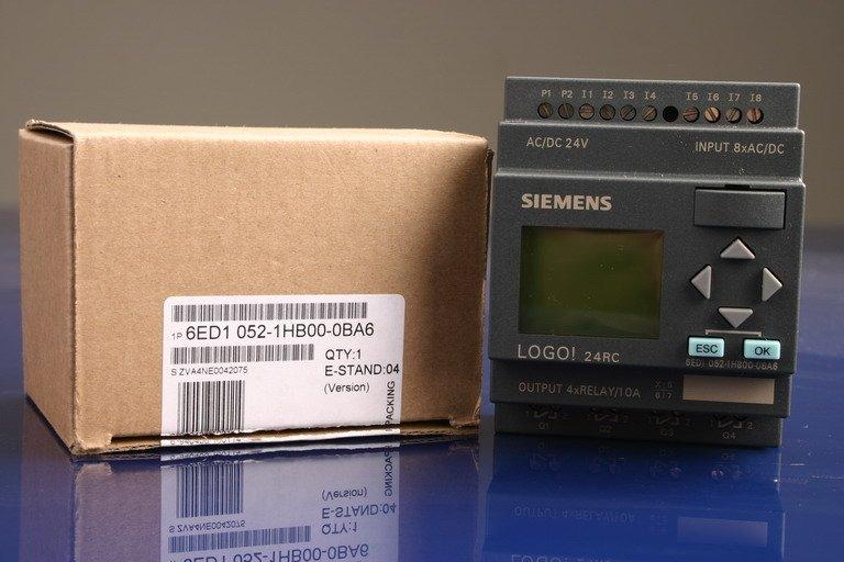 siemens Logo & Text Display TD200 TD400 6ED1052-1CC01-0BA6