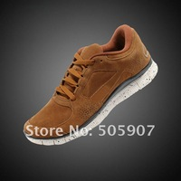 Женские кроссовки New arrived! Run +3 5.0 womens running shoes, fashion waterproof suede womens sports shoes A+ top quality