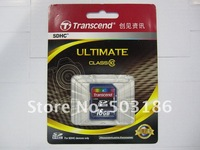 Карта памяти Transcend Really Class10 SDHC SD Card memory card, Really capacity+Waterproof Guaranteed card reader
