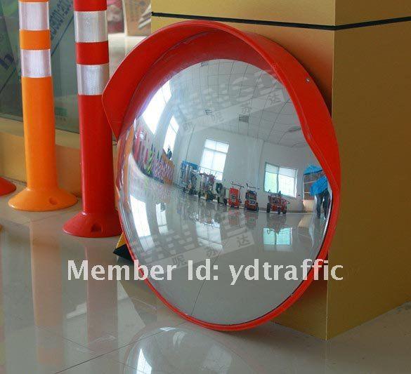 En plastique d corative concave convexe miroir 60 cm for Miroir concave et convexe
